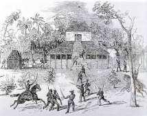 Sinhalese uprising again British in 1848.