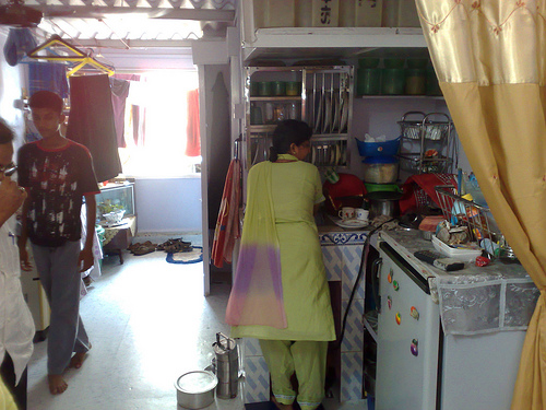 Cess in the tax cesspool sandhya jain bharata bharati for Middle class indian kitchen designs