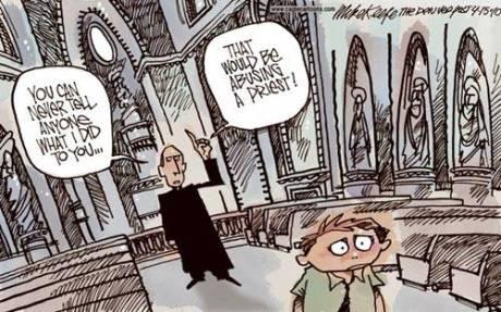 The 'paedo' and the paedophile priest.