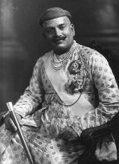 Sayajirao III Gaekwad, Maharaja of Borada, 1919.