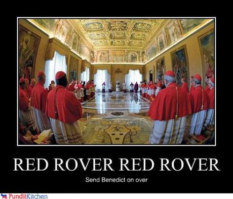 Red Rover Red Rover - Send Benedict On Over