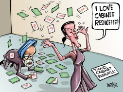 Sonia's Cabinet Resuffle