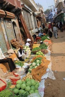 Farmers market Karauli, Rajasthan, India.
