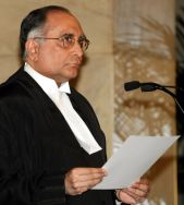 Chief Justice of India S.H. Kapadia