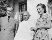 The Mountbattens & M.K. Gandhi