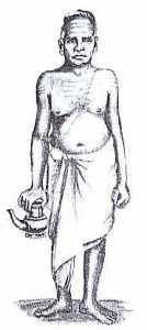 Tradtional Brahmin Acharya.