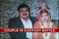 Anurup Bhattacharya and his wife.