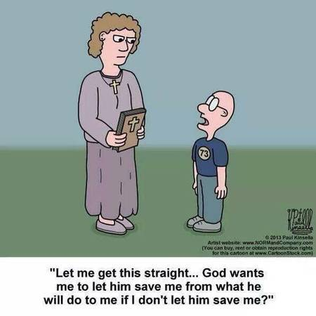 Salvation Cartoon