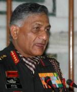 Indian Army Chief V. K. Singh
