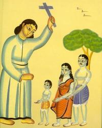 Christian missionary in India