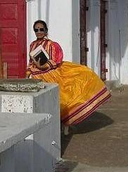 The current Shaiva mahant of Bodh Gaya.