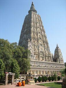 Mahabhodi Temple in Bodh Gaya, Bihar.