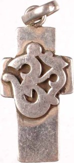 Om on Cross