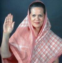 Sonia Gandhi's Hand