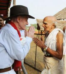 Professor Frits Staal with Kapra Sankaranarayanan Akkithiripad