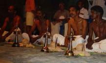 Five Adivasi tribes doing puja.