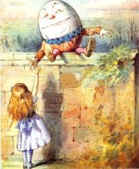 Humpty Dumpty & Alice