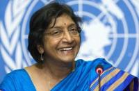 UN Human Rights Commissioner Navi Pillay