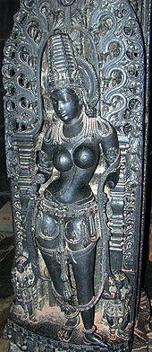 Sri Krishna as Mohini.