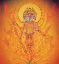 Vedic God Agni