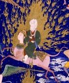Muhammad rides Al-Buraq