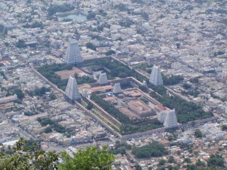 Sri Arunachaleshwar Temple in Tiruvannamalai, Tamil Nadu