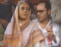 Indira Gandhi & Sanjay Gandhi