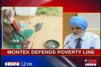 Montek Singh Ahluwalia defends his poverty line.