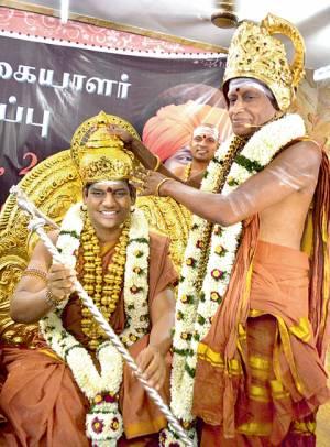 Nithyananda's coronation in Madurai