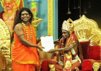 Nithy + Madurai Pamacharya