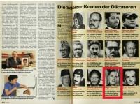 Schweizer Illustrierte: Rajiv Gandhi's bank account in Switzerland