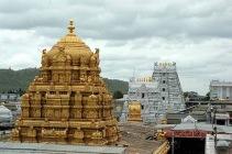 Balaji's gold roof.