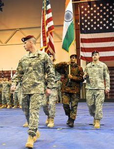 US & Indian Army Joint Exercises