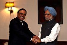 Zardari + Singh