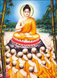 Buddha & Bhikkus