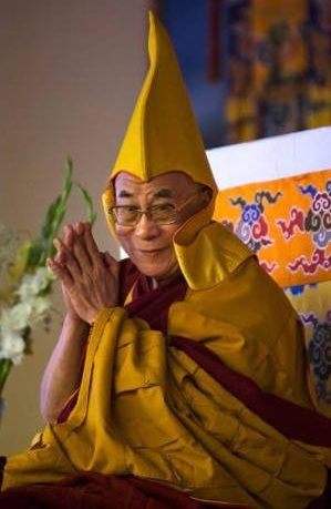 Tenzin Gyatso the 14th Dalai Lama