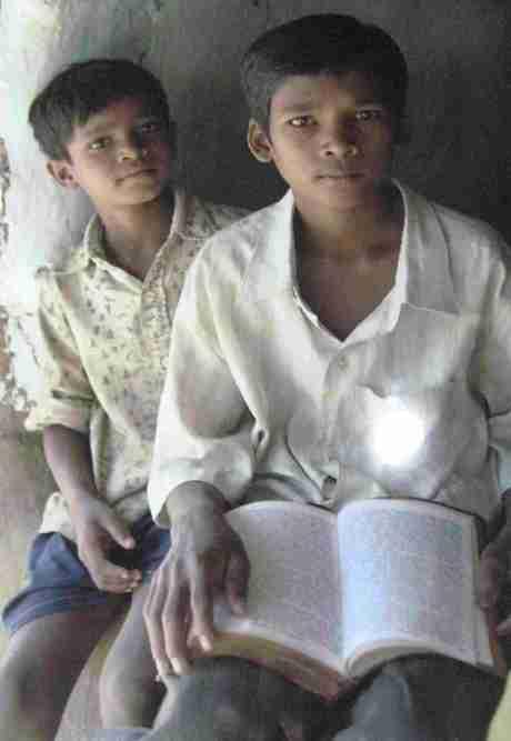 World Vision bibles for slum children.