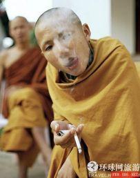 Smoking Bhikkhu
