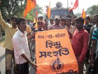 Hindus protest Muslim attacks