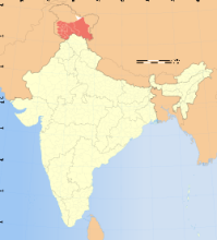 Jammu & Kashmir State in India.
