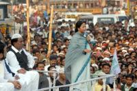 Bengal chief minister addressing Muslims.