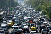 Traffic in Mumbai