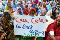 Kerala farmers protest against Coca Cola