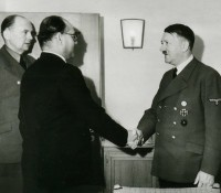 Netaji Subhash Chandra Bose with Adolf Hitler