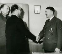 Netaji Subhash Chandra Bose with Adolf Hitler