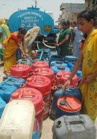 Delhi Jal Board Tanker