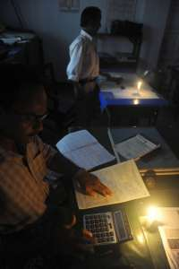 Power failure of northern grid 31 July 2012