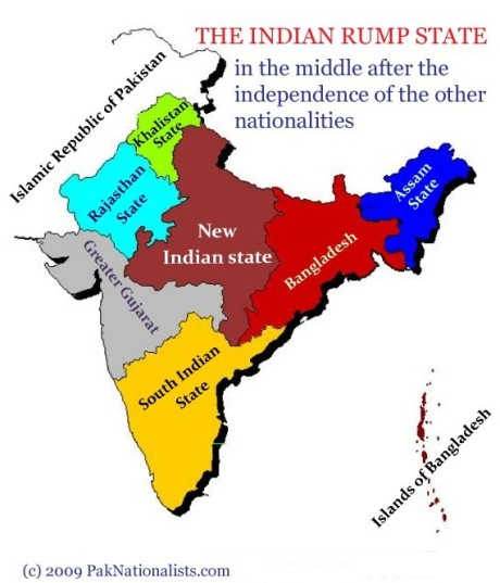 Indian Rump State: Many Indian secularists hold a similar view of India.