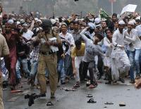 Muslim riots in Mumbai 2012