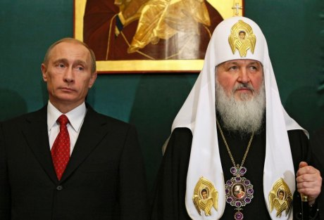 Russian Dictator Vladimir Putin & Russian Orthodox Patriarch Kirill: Ukrainians, especially nationalists, are Uniate Catholics and the Russian invasion of Ukraine is also a religious invasion.